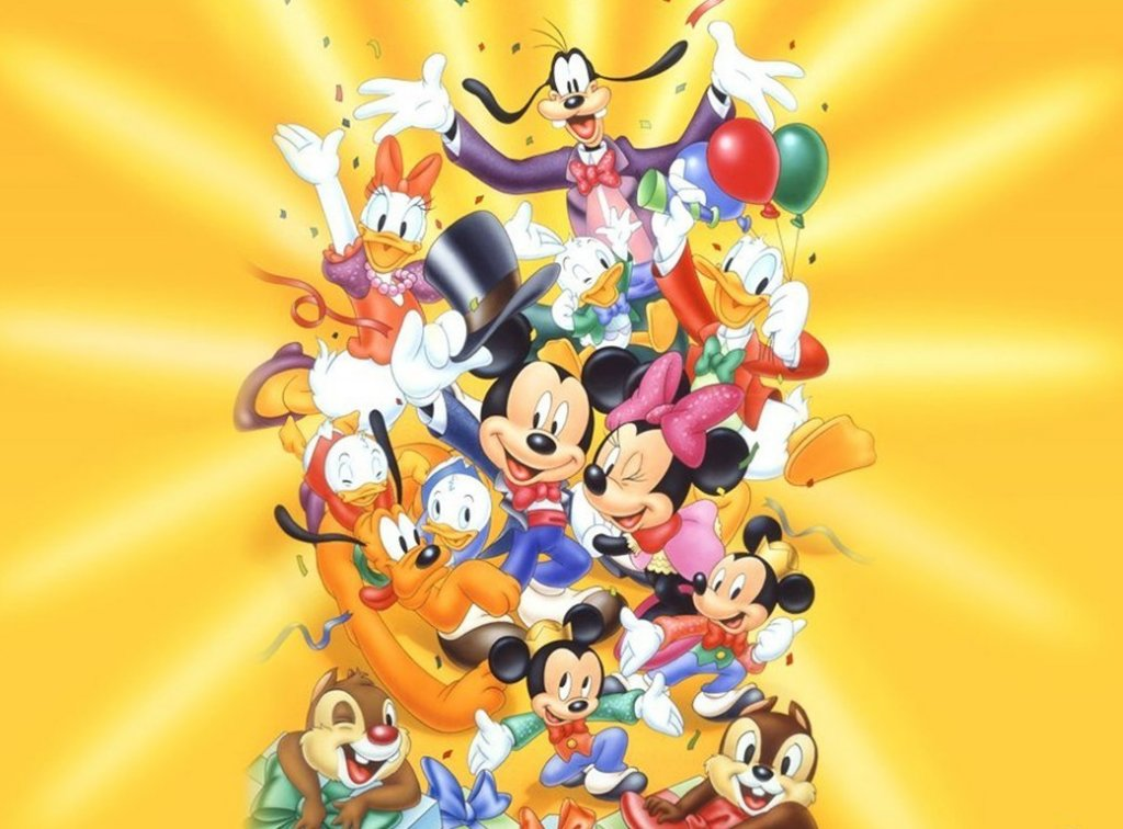 mickey mouse disney characters