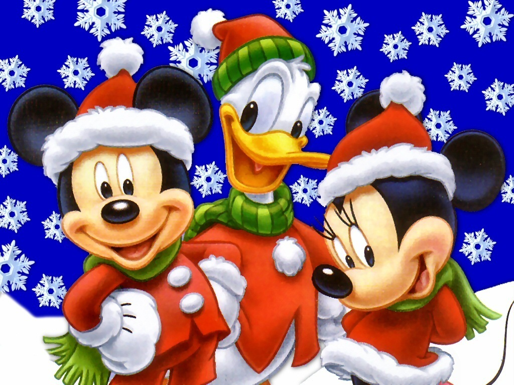 mickey mouse winter