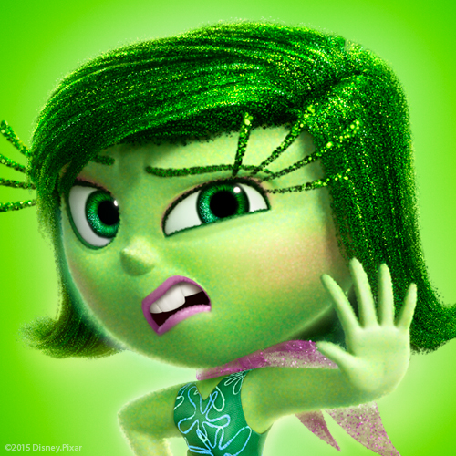 inside out Disgust profile